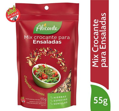 Alicante Mix Crocante Para Ensaladas X 55 Gr