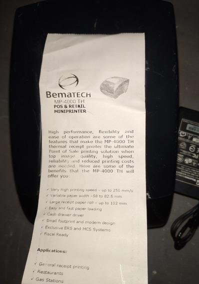 Impressora Térmica Mp-4000 Th Usb - Bematech Usada
