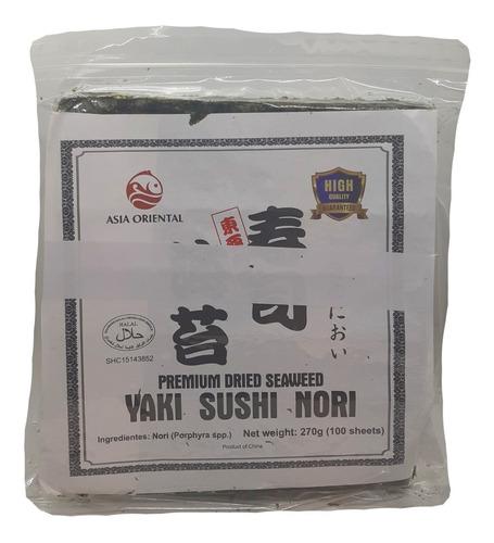 Alga Nori Para Sushi 100 Hojas Origen China