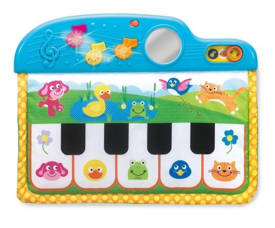 Manta Alfombra Piano Musical Luz Didactica Electronica Bebe