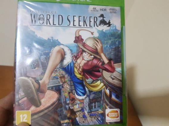One Piece World Seeker Lacrado Xbox One Midia Fisica