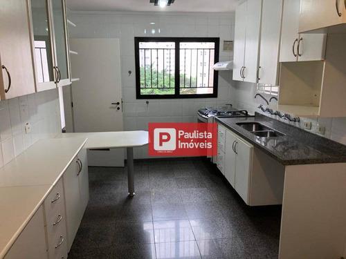Apartamento Com 3 Dormitórios Para Alugar, 126 M² - Vila Nova Conceição - São Paulo/sp - Ap30237