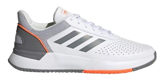 adidas Zapatillas Tenis Hombre Courtsmash Blanco - Gris
