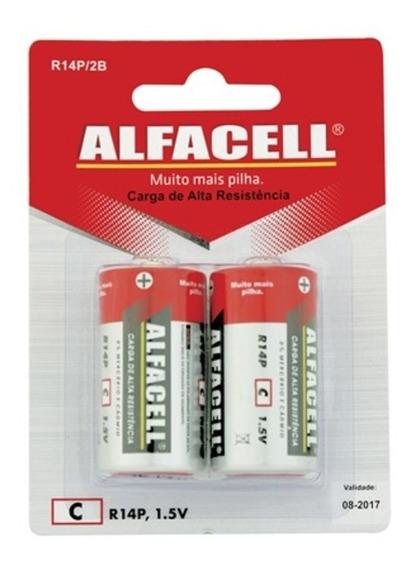 Pilha Comum 1,5v 2 Unidades - Alfacell