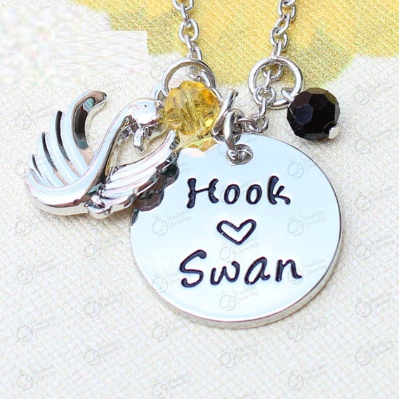Colar Once Upon A Time Hook S2 Swan - Emma E Gancho