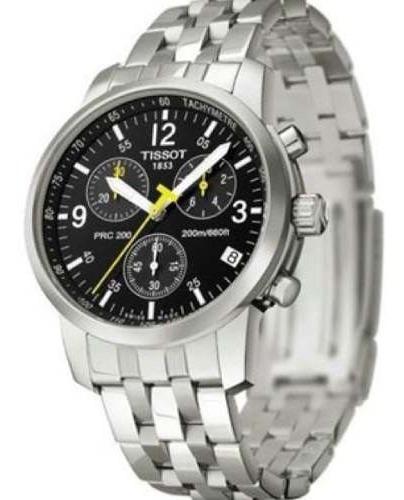 Relógio Tissot Prc 200 T17.1.586.52 Preto Aço Original