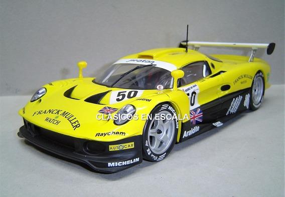 Lotus Elise Gt1 1997 #50 24hs Le Mans - Chrono Sun Star 1/18