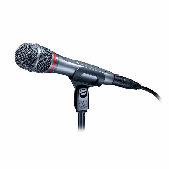 Microfone Dinâmico Audio Technica Ae6100 + Suporte Pedestal