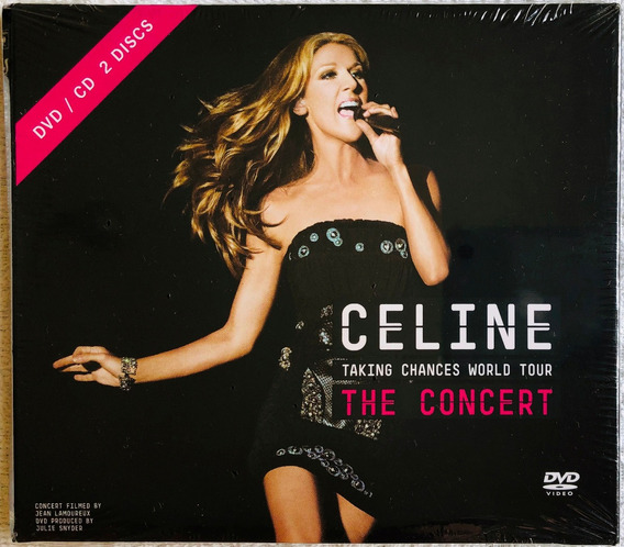Kit Dvd + Cd Celine Dion Taking Chances World Tour * Lacrado