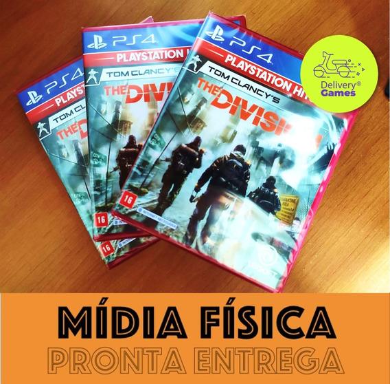 The Division Ps4 Mídia Física Novo Lacrado