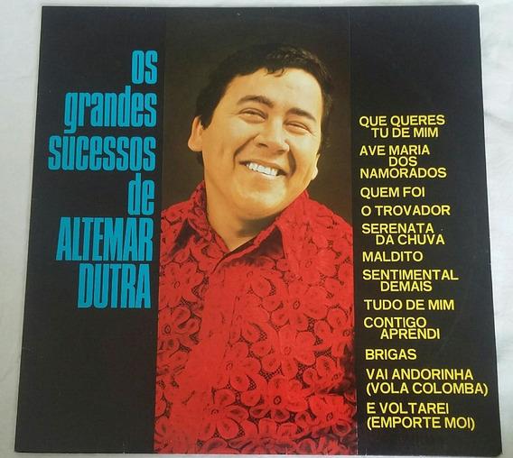 Lp Os Grandes Sucessos De Altemar Dutra. 1973. Vinil.
