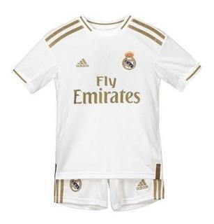 Kit Infantil Real Madrid 2020 - Kroos, Asensio, Jovic, Isco