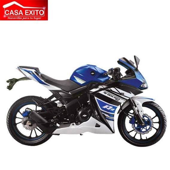 Moto Axxo R9 Año 2019 250cc Ro/bl/az