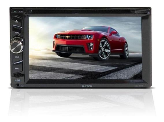 Dvd Player Multimídia Tela 6.2 Sd Usb Bluetooth Espelhamento