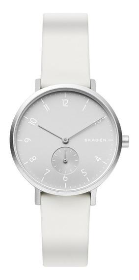 Reloj Unisex Skagen Aaren Kulor Skw2763 Color Blanco