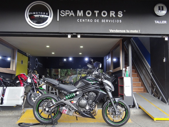 Kawasaki Er6n Negra Full Accesorios