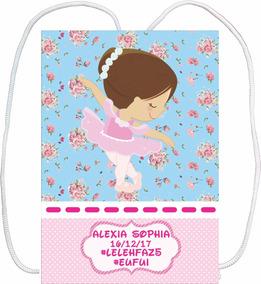 eba8396980 Lembrancinha De Bailarina Em Eva - Mochilinhas para Aniversário no ...