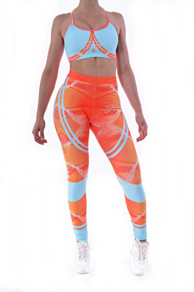 Conjunto Deportivo Calza Top Fitness Joy Positive