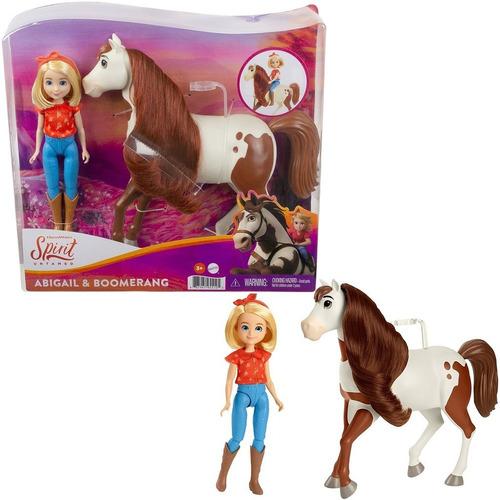 Imagem 1 de 5 de Boneca Abigail E Cavalo - Spirit Untamed - Mattel Dreamworks