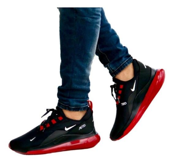 zapatillas nike hombre casual rojas