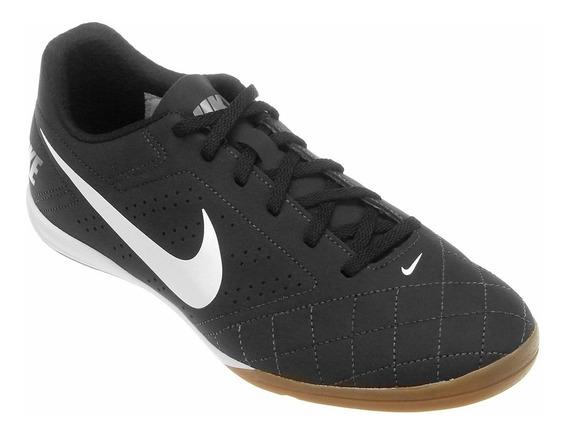 Chuteira De Salão Nike Futsal Beco 2 Preto Original Tenis