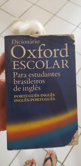Dicionário Inglês Oxford Escolar