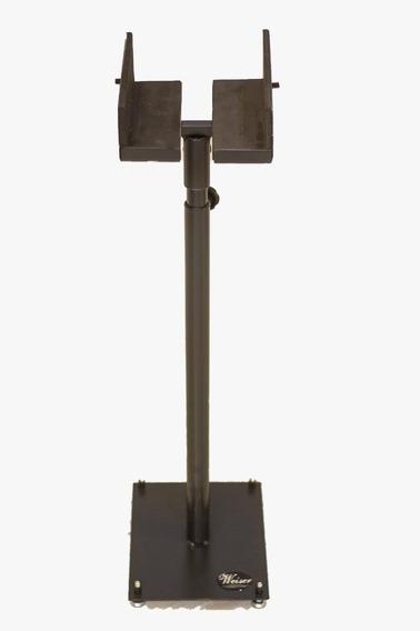 Par Pedestal Monitor Deáudio/referência C/regulagensalt/larg