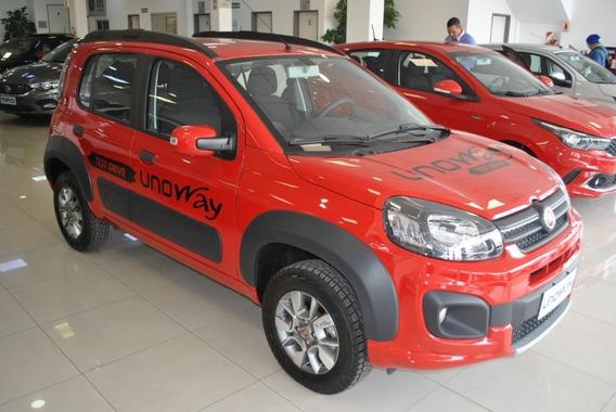 Fiat Uno Way 100% Financiado Ctas Fijas Sin Interes Online *