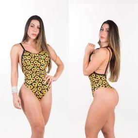 ec1d27dd6 Sunga Tzeu Biquinis Anna Carol Camuflado Men Swimwear Sac-1. 3 vendidos -  São Paulo · Maiô Body Cavado Biquinis Anna Carol Sexy Side Boob Girassol