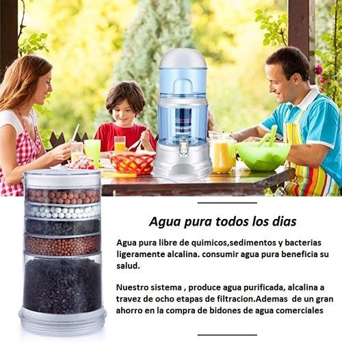 Filtros Purificadores De Agua  Alcalina 8 Etapas Filtracion