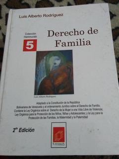 Derecho De Familia Por Luis Rodriguez