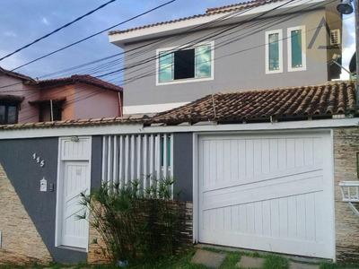 Casa Residencial À Venda, Santa Mônica, Macaé - Ca0407. - Ca0407