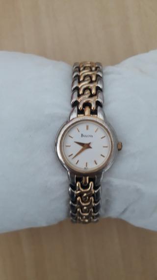 Relógio Feminino Bulova Ladies Francês Original