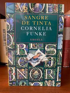Cornelia Funke Sangre De Tinta Trilogía Ed Siruela Ilustrado