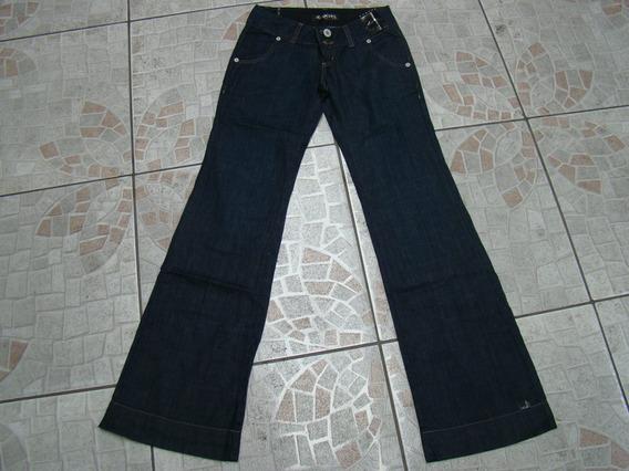 Linda Calça Jeans Feminina Flare Blb 38- 100% Algodão
