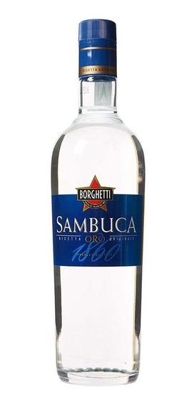 Licor Sambuca Oro Borghetti 700ml