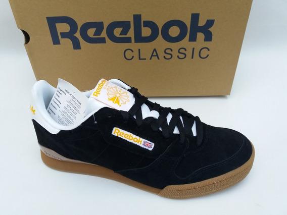Tênis Reebok Classic Phase 1 Pro Preto Gum Sneaker Original