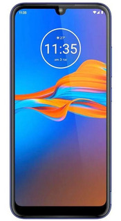 Motorola Moto E6 Plus 64gb Azul Netuno Celular De Vitrine