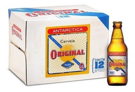 Cerveja Antarctica Original 300ml Caixa (12 Unidades)