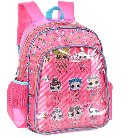 Mochila Infantil Costa Lol Surprise Rosa Média Original Luxc