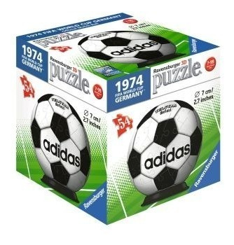 Rompecabezas 3d Balón adidas Alemania 74 Ravensburger