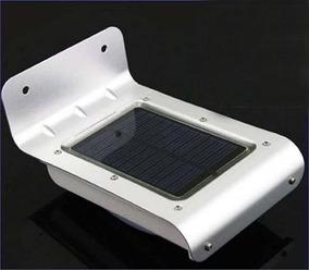 Luminária Solar 16 Leds K-10 Com Sensor Movimento