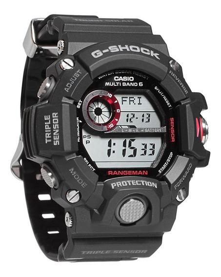 Relógio Casio Gshock Rangeman Gw9400 1dr Preto Novo Original