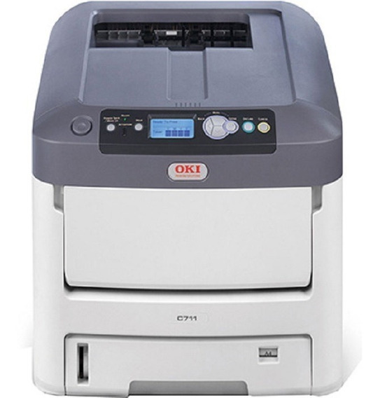 Impressora Oki C711 - Color - Nova