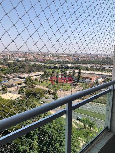 Excelente Apartamento Com Ótima Localização Todo Reformada Com 2 Dormitórios À Venda, 62 M² Por R$ 330.000 - Jardim Gonçalves - Sorocaba/sp - Ap0323