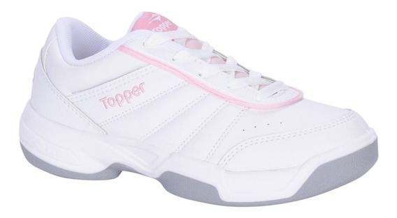 Zapatillas Deportivas Mujer Topper Tenis Lady Tie Break 3