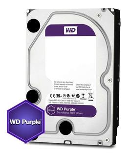 Disco Wd Purple 2tb Wd Purx 64 Purpura Vigilancia Camaras