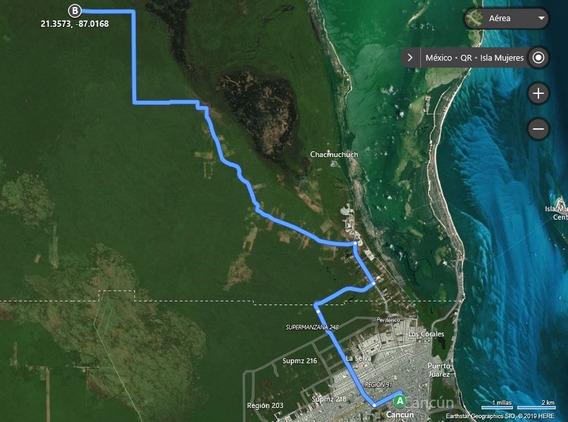 Magnífico Terreno De 100 Hectáreas Cerca De Cancún