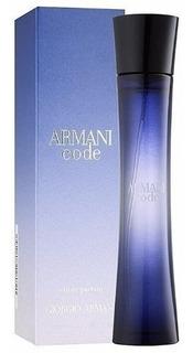 Perfume Importado Mujer Armani Code Edp X 75ml