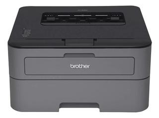 Impresora Brother HL-L2320D 220V - 240V gris y negra